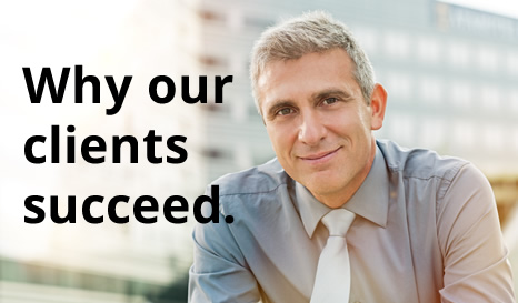 Why our clients succeed